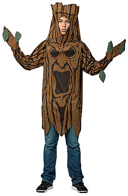 Scary Tree School Plays Adult Costume Tunic Halloween Dress Up Rasta Imposta (Tree Dress Up Costume)