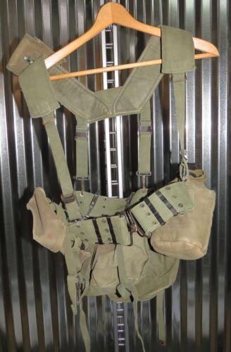 Vietnam War era equipment belt canteen M56 Feild Compass Pouch Shoulder Strap