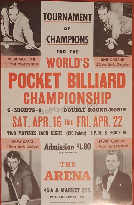 Classic Pocket Billiards Tournament of Champions Poster