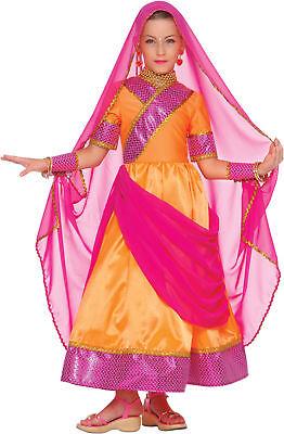 Bollywood Prinzessin Kostüm für Mädchen - Bollywood Prinzessin Kostüme