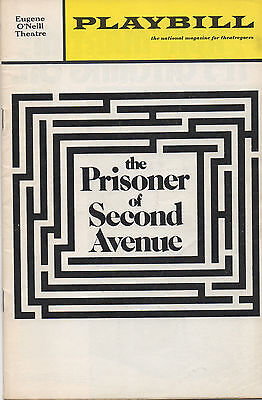 1972 Playbill The Prisoner Of Second Avenue Peter Falk Lee Grant