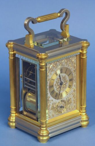 Late-19th century Grand-sonnerie Carriage Clock