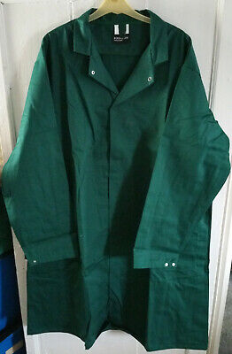 Men's Bottle Green Lab / Warehouse Coat – Large