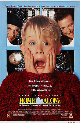 HOME ALONE Movie Poster (1990)](Home Alone Poster)