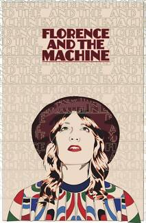 Florence + The Machine Ticket | Tuesday 10 Nov 2015 | Melbourne St Kilda East Glen Eira Area Preview