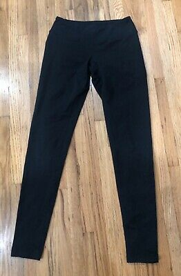 Zella Ladies Black Leggings Fitted, Stretch Small