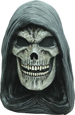 Halloween GRIM REAPER EVIL DARKNESS Latex Deluxe Mask Ghoulish Productions  - Grim Reaper Mask