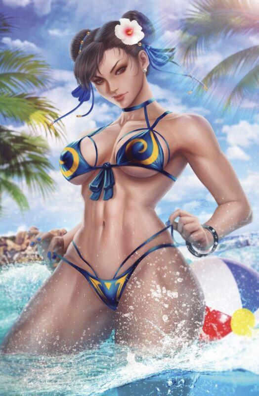 Street Fighter Sci-fi Fantasy Special #1 Ariel Diaz 9/29/2021 Release Date