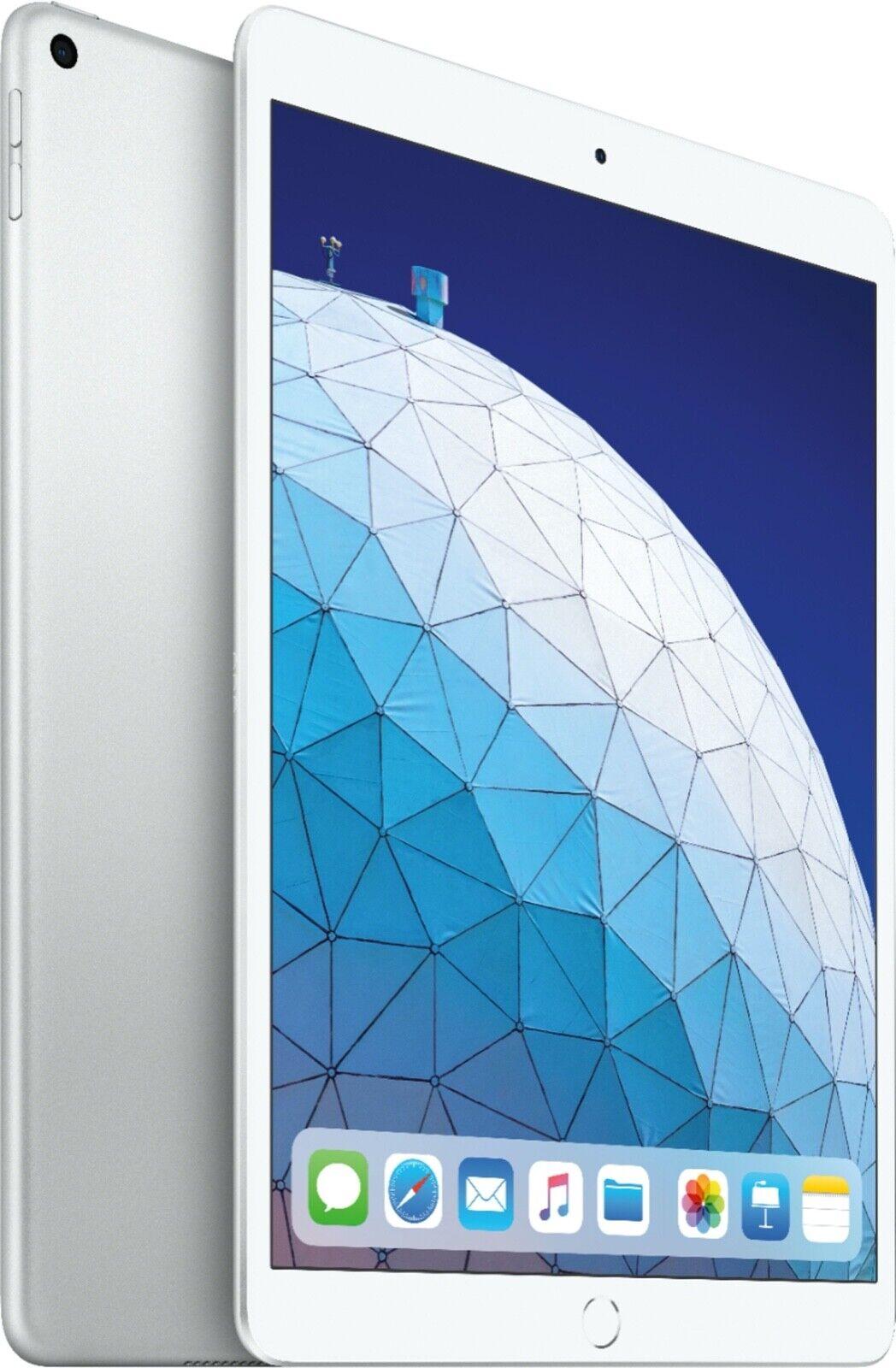 NEW Apple iPad Air 3rd Gen 256GB Wi-Fi 10.5in Silver MUUR2LL