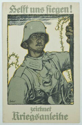 WWI German patriotic postcard: Fritz Erler
