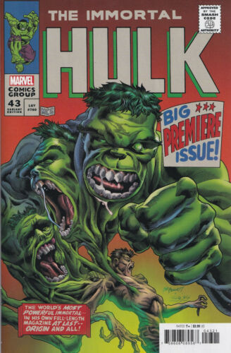 IMMORTAL HULK #43 (RECALLED ANTI-SEMITIC ERROR)(BENNETT HOMAGE VARIANT)