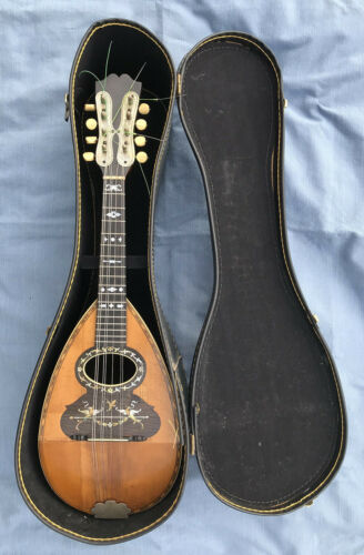 Antique Vintage Weymann Mandolin model