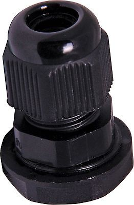 Lot Of 100 12 Npt - Strain Relief Cord Grip Cable Gland Wnut - New