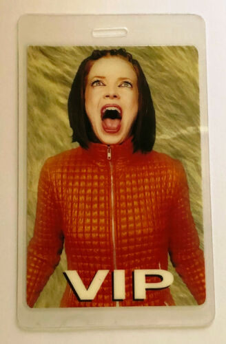 GARBAGE SHIRLEY MANSON 1998 Version 2.0 Tour World Tour Laminated Backstage Pass