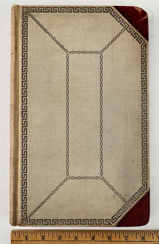 Vintage Ledger Book Cash Receipts Disbursements Dues Arabic Club Lodge 1920-1922