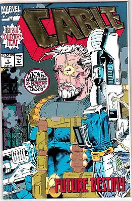 CABLE #1 EMBOSSED COVER  UNREAD #42378 BR1D7