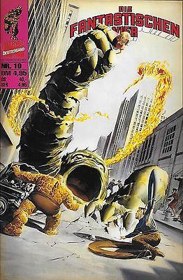 Die Fantastischen Vier Nr.10 / 1998 Stan Lee & Jack Kirby / Alex Ross Cover