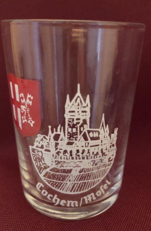 "Cochem Mosel Wine Taster Glass Shot Glass 2.75"" Germany"