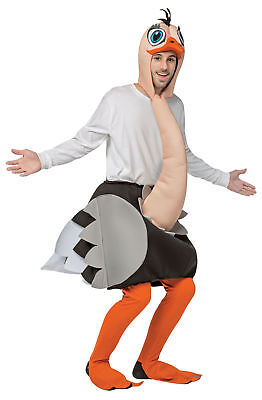 Strauß Erwachsene Kostüm Tier Wild Vogel Lustige Halloween Maskottchen Komische ()