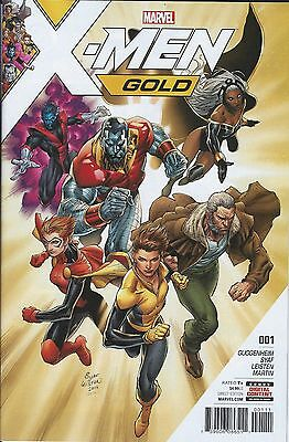Marvels X Men Gold 2017  Issue  1 1St Printing