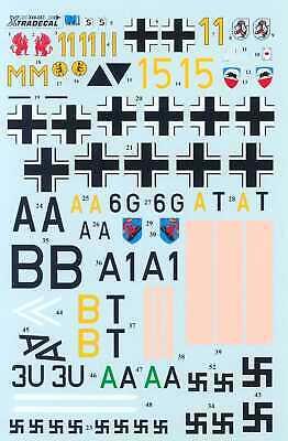 Xtra Decals 1/48 BATTLE OF BRITAIN LUFTWAFFE 70th Anniversary Set