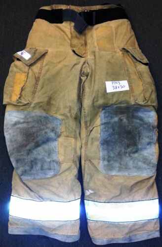 38x30 Pants Firefighter Turnout Bunker Fire Gear Globe Gxtreme P743