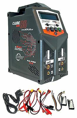 RC Plus RC-CHA-211 Cube 80 Duo  2x 80Watt / max. 7A