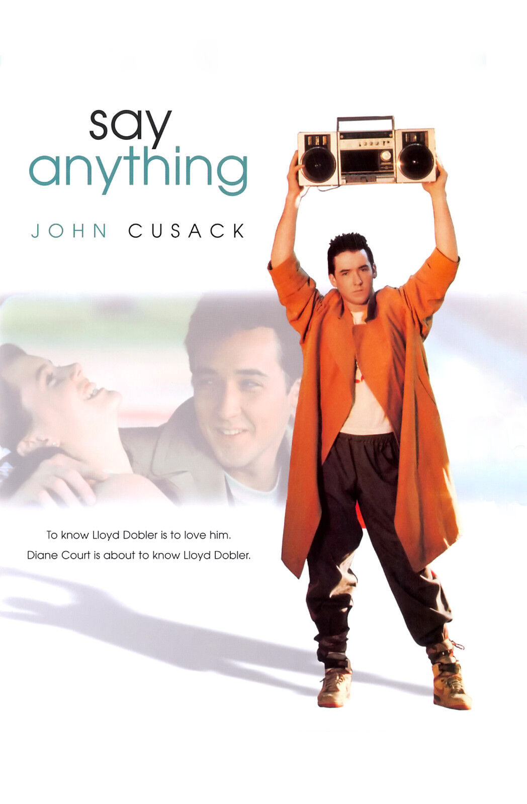 say anything 1989 movie poster