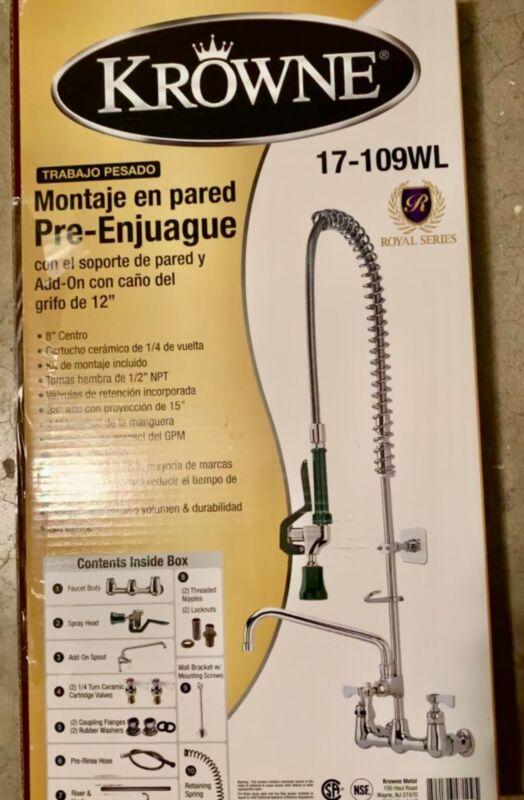 Brand new krowne pre rinse faucet 17-109WL