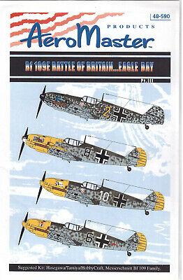 Messerschmitt Bf 109E BoB decals 1/48 Aero Master 48590