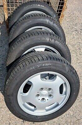 Original Mercedes Alufelgen, MB7563572, 7,5Jx16H2 ET35 mit Reifen 225/55 R16 99W