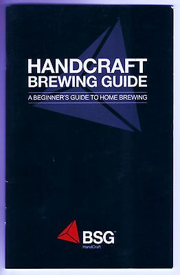 $4.95 - BEER BOOK BREWING GUIDE - STEP BY STEP HOW TO MAKE GREAT HOMEBREW BEERS AT HOME