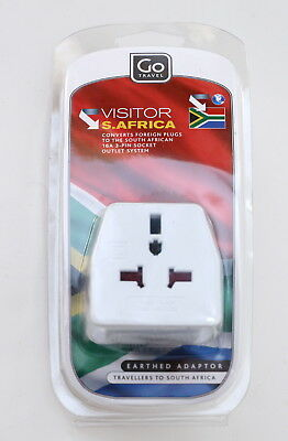 Universal Travel Outlet Plug Adapter for South Africa By Go Travel for sale  Stony Point