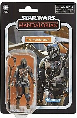 MANDALORIAN 3.75 Action Figure Star Wars Vintage Collection Hasbro In Stock MINT