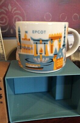 NEW Disney Parks Epcot Been There Series Ceramic Coffee Mug Starbucks