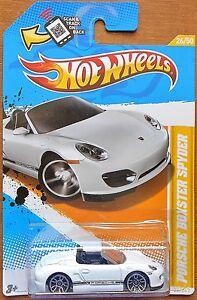 HotWheels-Cars-2012-Porsche-Boxster-Spyder-1-64-NEW