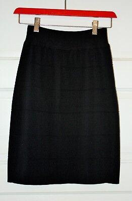 Kerisma Black Stretch Pencil Skirt Size Medium/Large FREESHIP