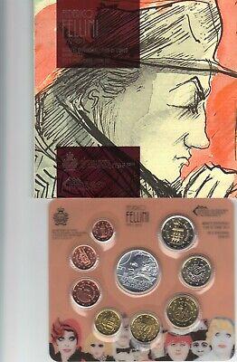 Coffret BU San Marin 2013 - 8 pièces de 1 cent à 2 euros + 5 euros en argent