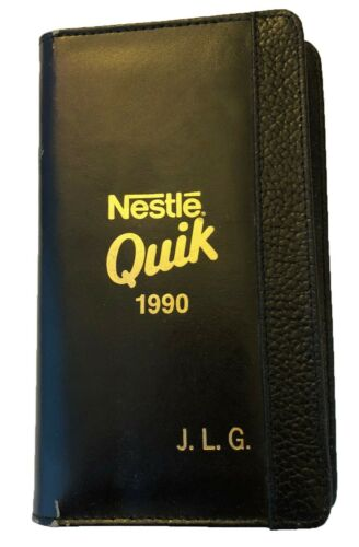 Nestle Quik Hazel Weekly Monthly Planner Pages 1990 Rare Vintage No Writing In