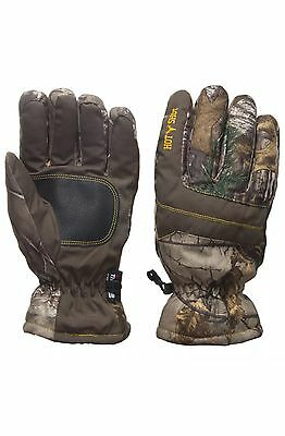 Men's Hot Shot Gloves Realtree Camo Thermal Waterproof Hunting Camping Size  L