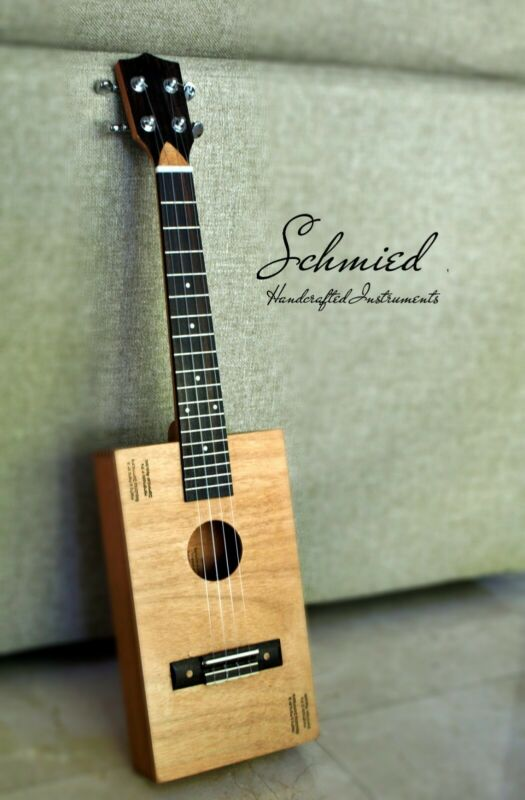 "Cigar Box Tenor Ukulele - ""Davidoff Toro"" Box - Handcrafted #243"