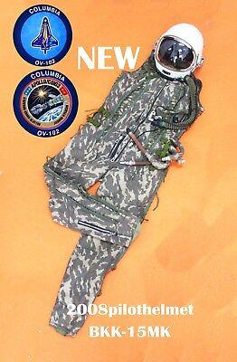 Spacesuit Disperse Helmet High Altitude Astronaut Space Pilots Pressured Suit 0911