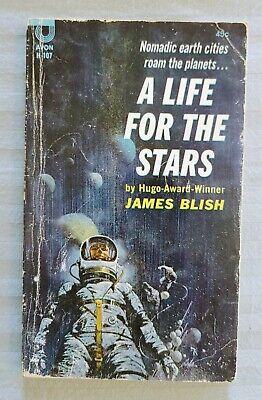 A LIFE FOR THE STARS, JAMES BLISH, AVON BOOKS, 1962