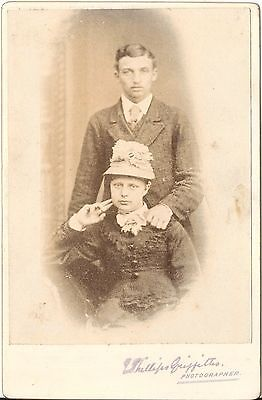 CAB photo Feines Paar - 1880er
