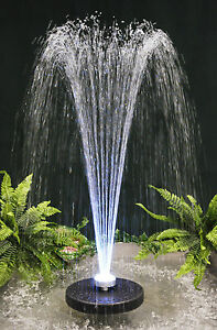 Fontaine jet d eau apollo clairage led couleurs for Eclairage led jardin terrasse