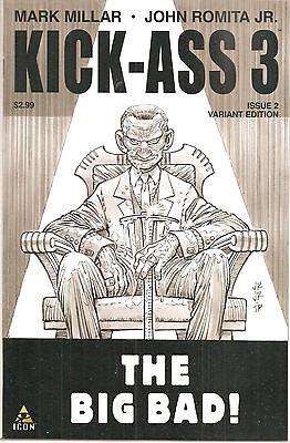 Kick Ass 3   2   Jrjr  Sketch Variant Cover