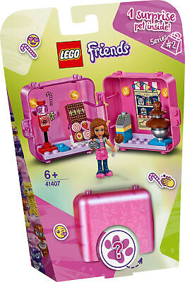 41407 LEGO Friends Olivia's Candy Store Shopping Play Cube Playset 47 Pieces 6+