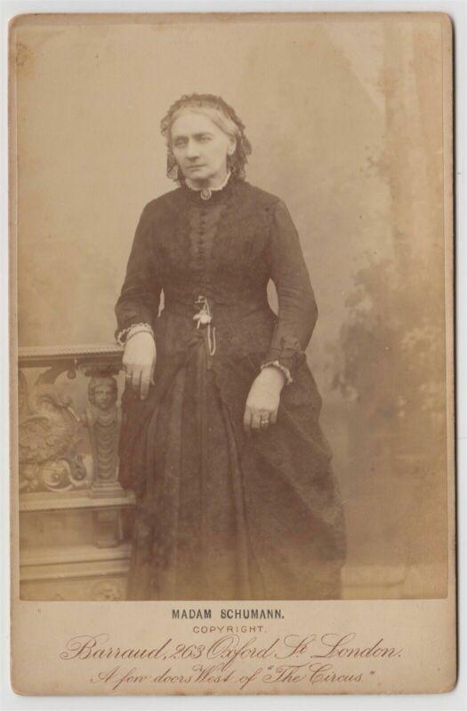 Clara SCHUMANN (Pianist/Composer): Cabinet Photograph