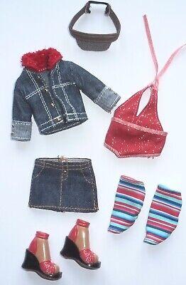Rare 2002 My Scene Barbie Complete Fashions