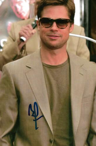 Brad Pitt Autogramm signed 10x15 cm Bild